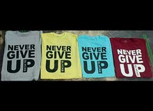 تيشرت محمد صلاح NEVER GIVE UP