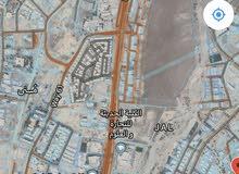 أرض سكني تجاري بوشر للبيع الصفة الثانية شارع مسقط السريع