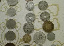 قطع نقدية نادرة مغربية عربية خليجية وغربية