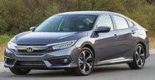 Honda Civic 2018 for rent
