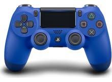 PS4 Dualshock 4  / Blue controller for Ps4 / وحدة التحكم الزرقاء للبلاي ستيشن 4 /  off % 25