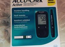جهاز  لقياس السكر   جديد بالكرتون سعره الاصلى. 23