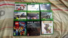 Selling 9 games in a good condition