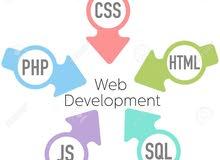تصميم مواقع وبرامج علي الانترنت