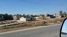 قطعة ارض الشارع الوسطي مقابل انشائيات ابومحمد