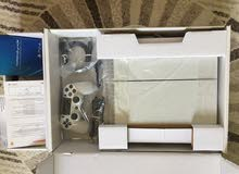 PS4 500GB White color  in good condition with nice 3 games!!!