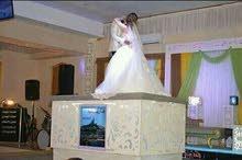 كوريك رفع المسرح والفست للعروسين في قاعات الافراح