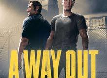 A way out دسكة للبيع PS4