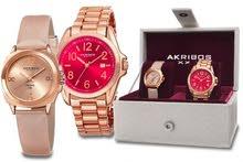 Akribos XXIV Watch set