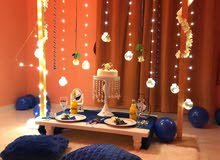 تنظيم حفلات اعياد ميلاد وذكرى زواج