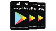 بطاقات جوجل بلاي بجميع الفئات وارخص الاسعار.