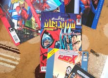 مجلة قديم عدد 6مجلة  لبطل خارق1مجلة  سبايدر مان و x-مان