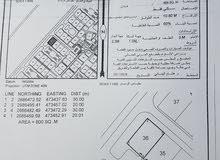 ارض سكنيه في صحار(الصويحره)الارض كونر راس