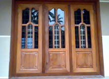 we make steel and aluminium door windows and gates. We make carpentry wardrobe carpenter door.