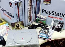 A Playstation 1 device up for sale for video game lovers