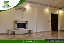 شقة ارضية للايجار في دابوق مساحة البناء 140 م