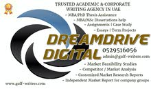 MBA Dissertation / PhD Thesis Assistance… Academic Writing: Call 0529516056 [Gulf-writers.com]