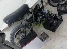 دراجه يماها كروووس اكس تي للبيع بسعر مغري معها محركين بحاجه لتجميع