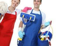 تنظيف جميع المنازل