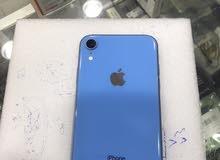 ايفون Xr مساحته 64 جيجا اللون الازرق مستعمل نظيف معاه اغراضه الاصليه بدون كرتونه