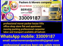 , services-all over bahrain professional mover and Packers company