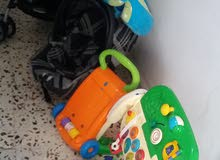 Stroller and Car seat (up to 3 years old)