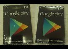 بطاقات الجوجل بلاي الصيني