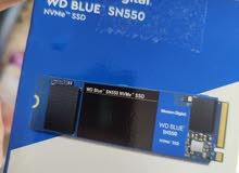 WD Blue SN550 512 GB (500 GB) M.2 NVMe SSD WDS500G2B0C-00PXH0