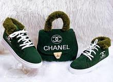 سيت حقيبه مع حذاء