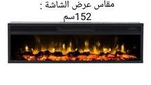 مدفأة ديكور كهربائية