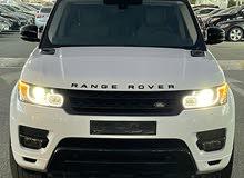 خليجي رنج روفر V6  سوبر شارج بصبغ الوكاله و سيرفس الوكاله