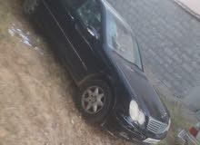 Black Mercedes Benz C 200 2003 for sale