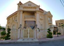 قصر بتصميم هندسي رائع يقع في شارع الاردن ( حي المنصور ) للبيع