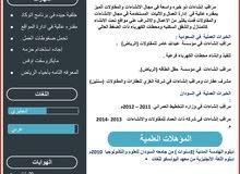 مشرف إنشاءات +مشرف عقارات+مسوق عقارات +إداري