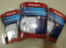 عرض خاص ( ثلاثة أجهزة كاشفة عن غاز أول أكسيد الكربون ) عند الحرائق