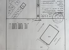 أنا المالك للبيع أرض سكنية كورنر في العامرات / مدينة النهضة السادسة البريد