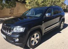 Jeep Grand Cherokee 2012 For sale - Black color