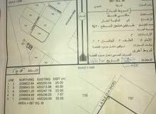 ارض987 م للبيع في الجازر