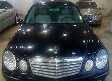 مطلوب سيارة مرسيدس E 200  _2007/ 2008 /2009