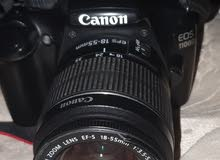 CANON 1100D WITH 18-55MM IS II