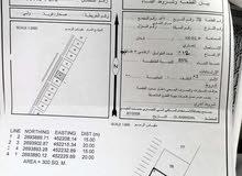 ارض تجاريه في صحار(ولي)علي الشارع العام