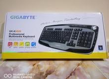 كيبورد من شركة gigabyte للبيع