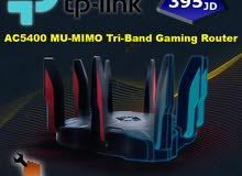 العب بلا حدود مع أفضل راوتر ألعاب في العالم Tp-Link Archer C5400X