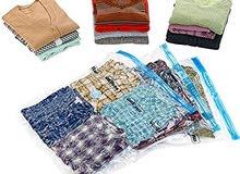 أكياس توفير المساحة وحماية الملابس من الرطوبة والعفن