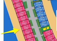 أرض للبيع في صباح الأحمد البحرية بالمرحلة الرابعة C