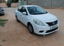 White Nissan Sunny 2012 for sale