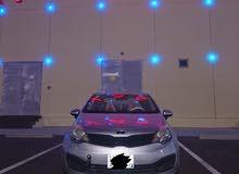 Kia Rio 2014 For sale - Silver color