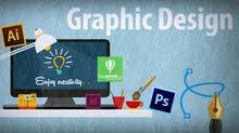 ( أرغب عمل عن بعد)، مصمم جرافيك وموشن، وكاتب محتوى اعلاني محترف