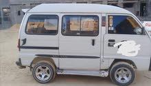 سيارة سوزوكي فان 7 راكب للايجار بالسائق للشركات والمصانع ودورات نقل موظفين وعمال
