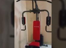 جهاز home gym شبه جديد إستعمال خفيف البيع بداعي السفر بسعر مغري